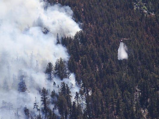Lake Fire, June 19, 2015