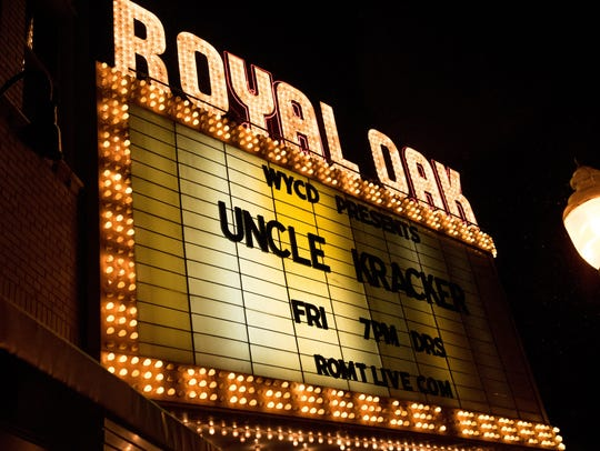 Royal Oak Music Theater was No. 8 on Uber's list of