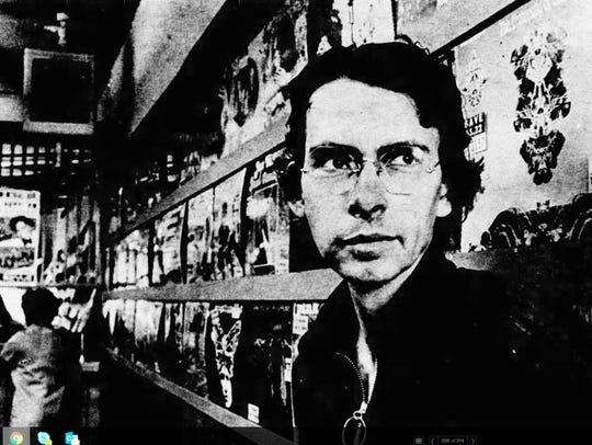 """1968: Musician-turned-store-owner John """"Jay"""" Schreiber"""