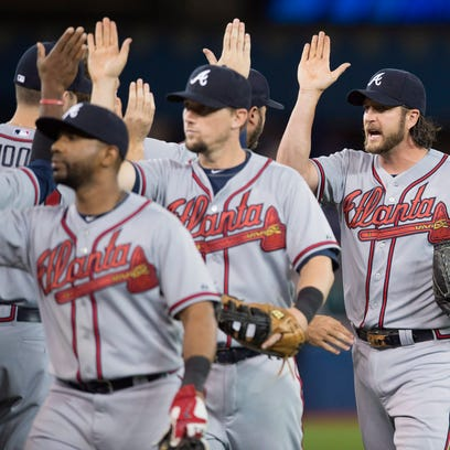 The Atlanta Braves have had plenty of opportunities for high fives during the first two weeks of the season.