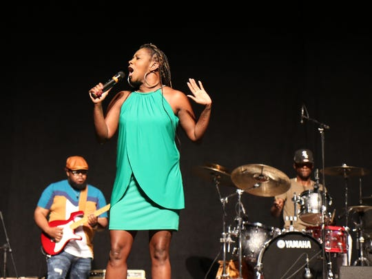 Gospel star Le'Andria Johnson will perform Saturday at Saint Mary Missionary Baptist Church in Fort Myers.