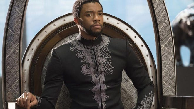 """Chadwick Boseman, who played T'Challa in """"Black Panther,"""" died of colon cancer on Friday."""