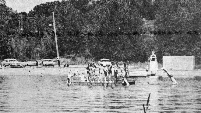 Kids spent their summer at the official Morton swimming pool, which was a spring-fed natural watering hole, in this photo that first appeared in the June 25, 1970 edition of the Redwood Gazette. Morton High School student Ann Gallery gave swimming and life-saving lessons there between her junior and senior years.