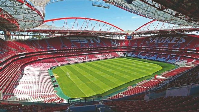 Estádio da Luz will host the Champions League final, as it did in 2014, when Real Madrid and Cristiano Ronaldo defeated Atletico.