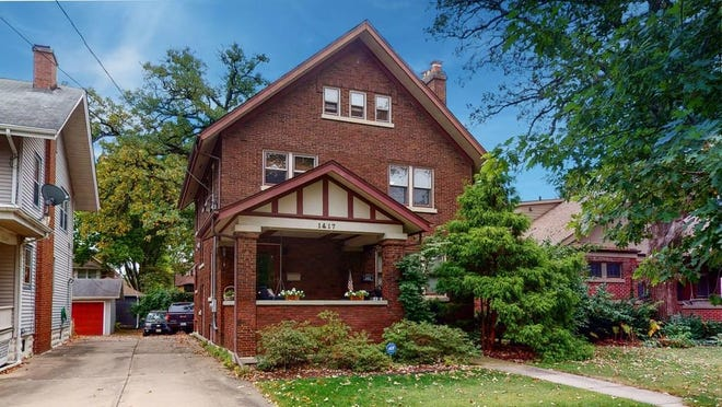 This home at 1417 Harlem Blvd. in Rockford is for sale for $229,000.