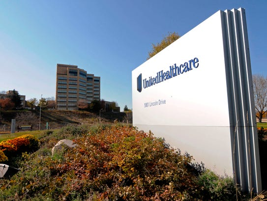 A portion of the UnitedHealth Group Inc.'s campus in