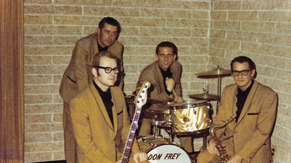 This photo of Don Frey and The Naturals was submitted by Don Frey, and was taken in the 1960s.
