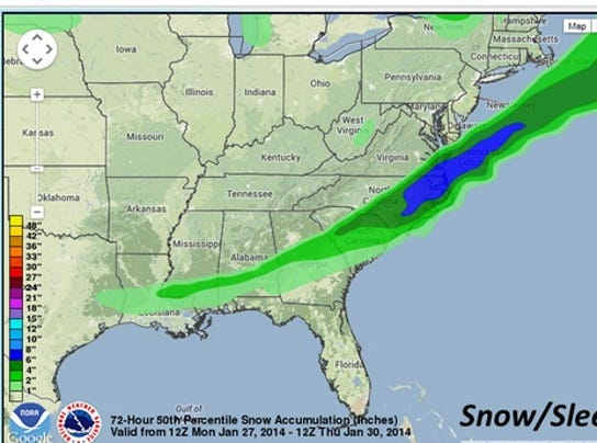 Winter Weather Forecast For Virginia Beach