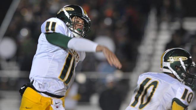Reynolds quarterback Tevin Stafford.