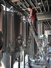 Matt Bitsche of Wichita Falls Brewing Company said there have been a few construction delays but that he and his business partner, Russ Reynolds, hope to be brewing beer downtown by late December.