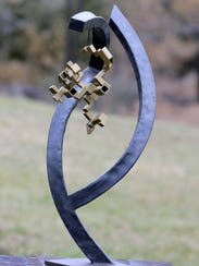 Drew Weber, a Colts Neck-based artist, sculptor, blacksmith,