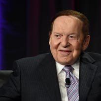 Las Vegas Sands Corp. Chairman and CEO Sheldon Adelson speaks at the Global Gaming Expo (G2E) 2014 at the Venetian Las Vegas on October 1, 2014.