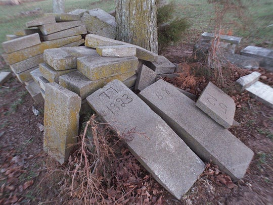 In the 1970s, vandals had tossed many of the stones
