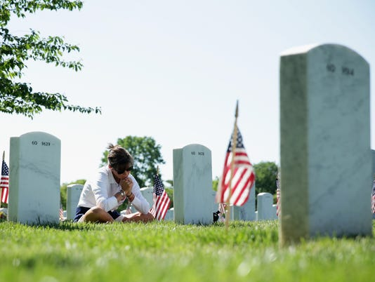 Memorial Day Weekend Observed At Arlington National Cemetery