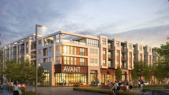 The 227-unit residential space Avant will be the first building constructed at the new Park Lane development.