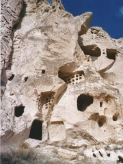 People have been using the earth to regulate the climate of their homes as long as humans have existed. Some sites are extreme, like this one in Cappadocia Turkey. This ancient city is made of miles of artificial caves and chambers.