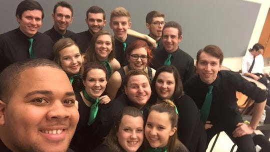 YCP Rhapsody, York's College's a cappella group, has
