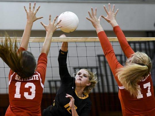 High School Volleyball: Merritt Island at Satellite