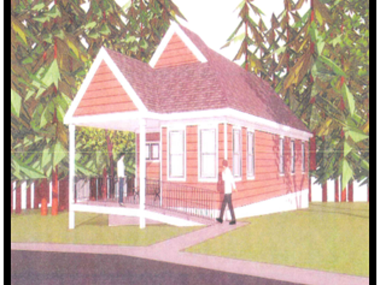 A rendering of the new Kiddie Keep Well Camp health center.