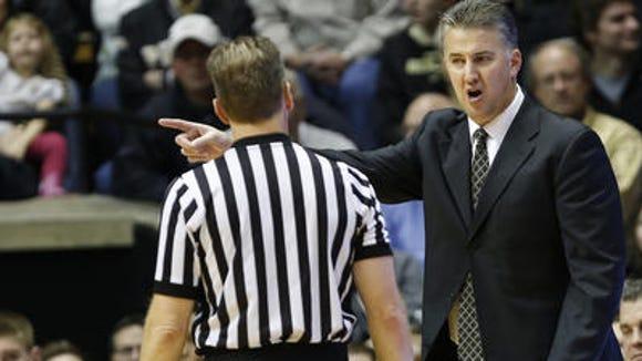 Purdue coach Matt Painter