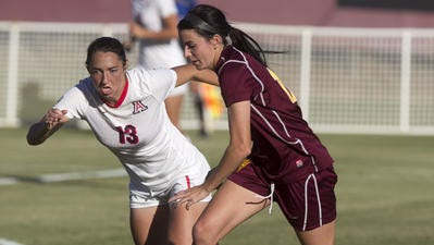 Cali Farquharson scored her 41st career goal Friday in ASU's 2-1 loss at Utah.