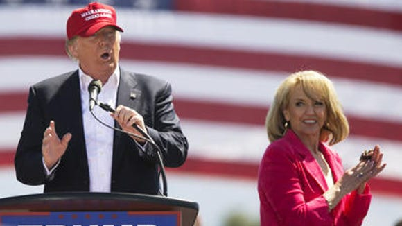Former Arizona Gov. Jan Brewer has not been vetted to be Donald Trump's running mate, despite the presumptive nominee saying she could be considered.