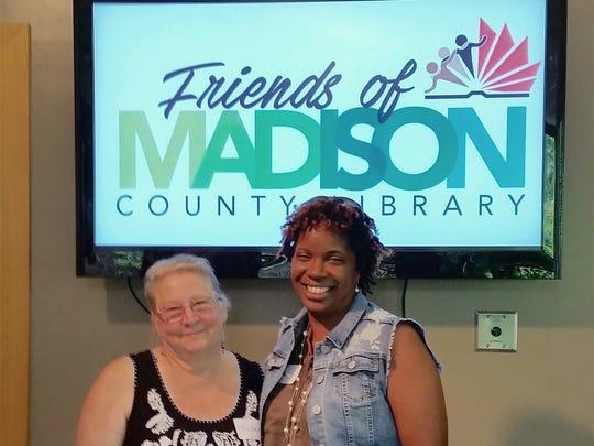 Dana Millen, right, of Orangeburg, South Carolina,