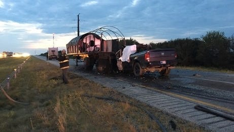 Porter resident Michael S. Kehle was killed Monday in this crash on Interstate 65 near Wolcott.