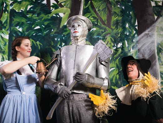 The Wizard of Oz whirls onto the stage of the Robert
