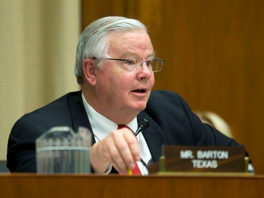 Rep. Joe Barton, R-Texas