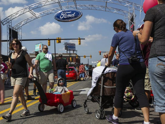 Ford to sponsor offer 4 new features at 2017 woodward for Mitchell s fish market birmingham