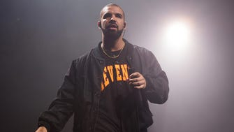 Drake performs as part of the Summer Sixteen Tour in New York.