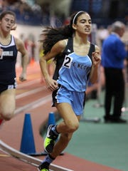 Rye Neck's Sonia Finkenbeg won the Class C 1500-meter