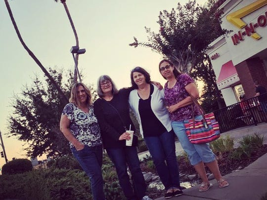 On Sept. 14, Karen and Denise flew out to meet their siblings and birth mother in California.