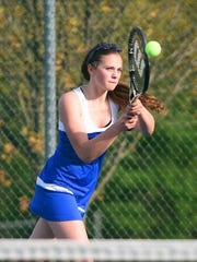 As a sophomore, Fort Defiance's Maya Simmons began playing both singles and doubles on a full-time basis for the Indians after playing doubles sporadically as a freshman.