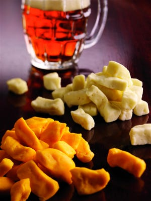 Cheese curds are a typical Wisconsin food.