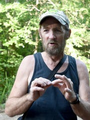 Bigfoot researcher Fred Kanney talks about families of Sasquatches he believes to be living in the vicinity of Coal Road in Augusta County as well as encounters he believes he has had with them during an interview on Friday, July 10, 2015.