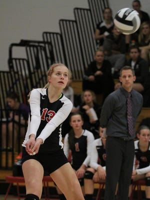 Lourdes' Laura Chier is back after earning first-team all-conference last season.