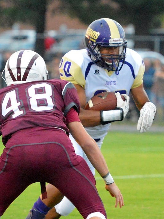 Waynesboro at Stuarts Draft Football