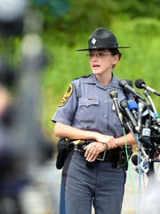 Trooper P.M. Neff of the Virginia State Police answers