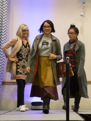 Apparel was modeled during the Oshkosh Area Women's Association 30th annual benefit style show in 2015. This year's show is Nov. 1 at the Oshkosh Convention Center.