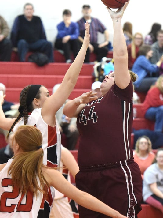 Stuarts Draft at Riverheads girls basketball