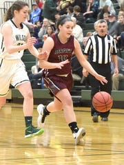 Senior Abby Rodgers, right, is one of several experienced players returning to the Stuarts Draft lineup this season.