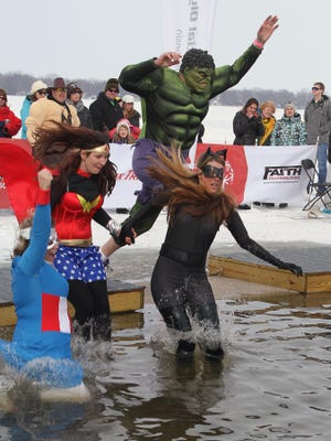 The Polar Plunge for Special Olympics attracted thousands of participants and spectators in Menominee Park, as seen in this file photo from last year. This year's plunge is Saturday, Feb. 20.