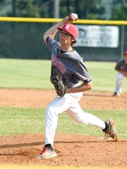 Riverheads' Ryan Fitzgerald delivers a pitch in the