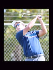 Richard Yai tees off Friday on the 15th hole at Vista Hills Country Club.