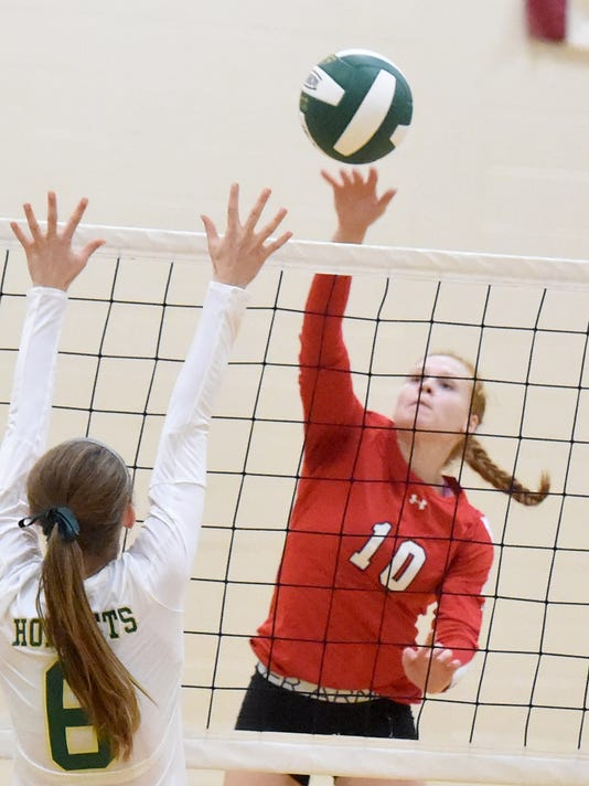 Riverheads at Wilson Memorial volleyball