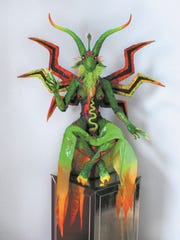 "Chris Andres' ""Black Light Baphomet II"""