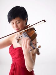 Violinist Jennifer Koh will perform with the Milwaukee