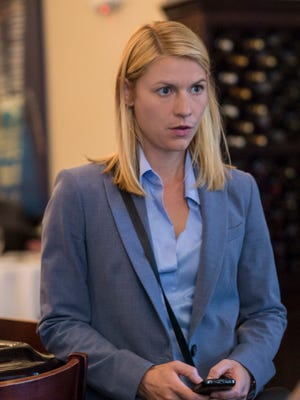 Claire Danes as Carrie on 'Homeland.'